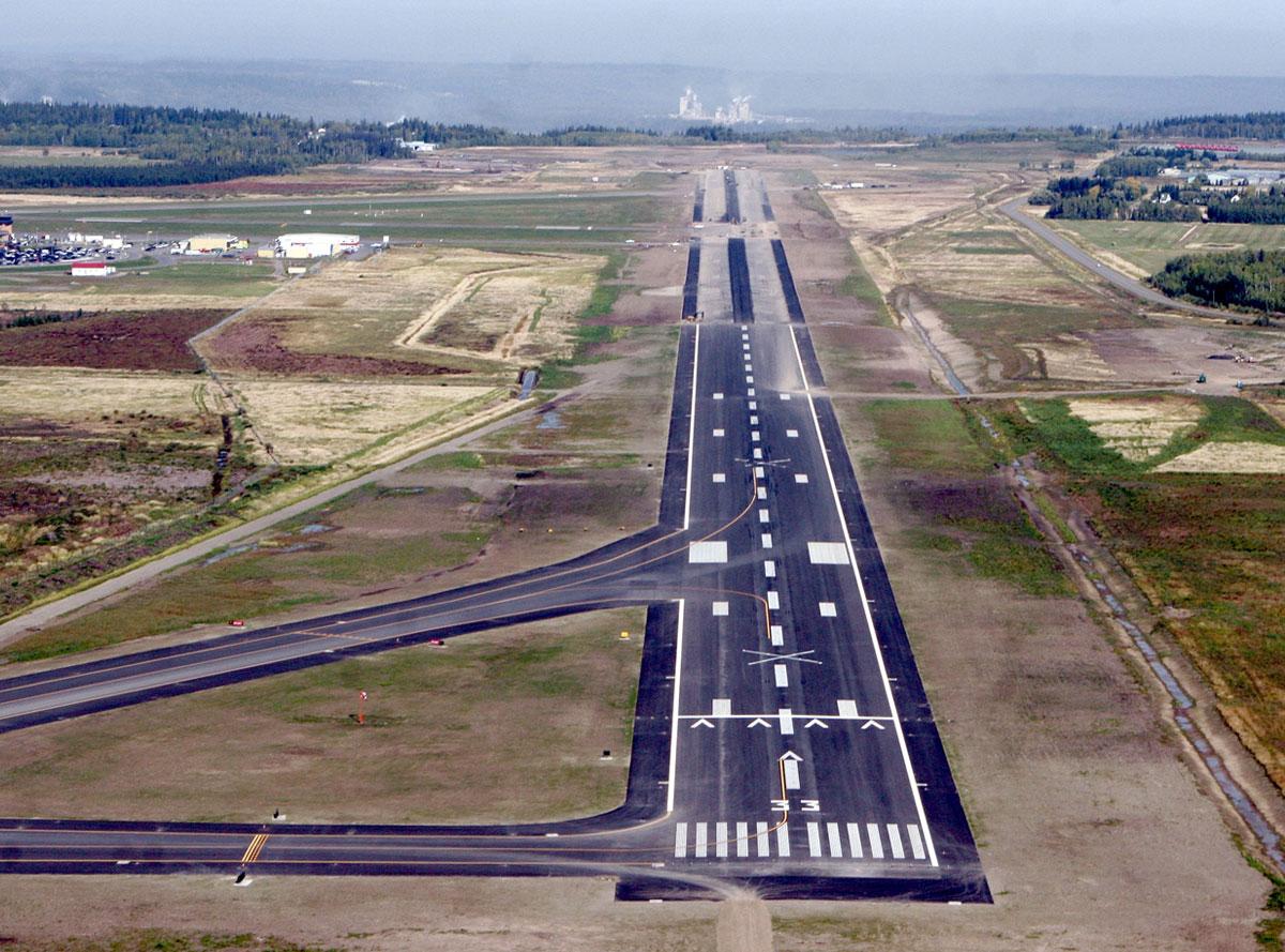 Prince George Runway Extension L Amp M Engineering Limited